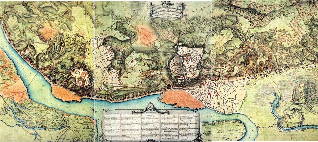 1786. План города