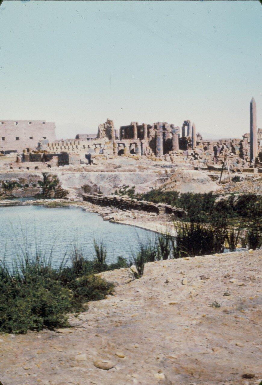 Карнак. Руины. 1950
