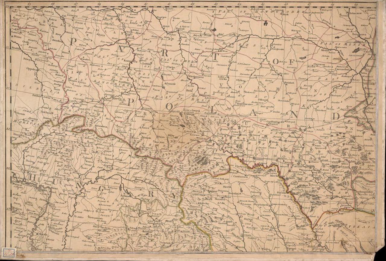 1783. Карта Российской империи. Часть 3