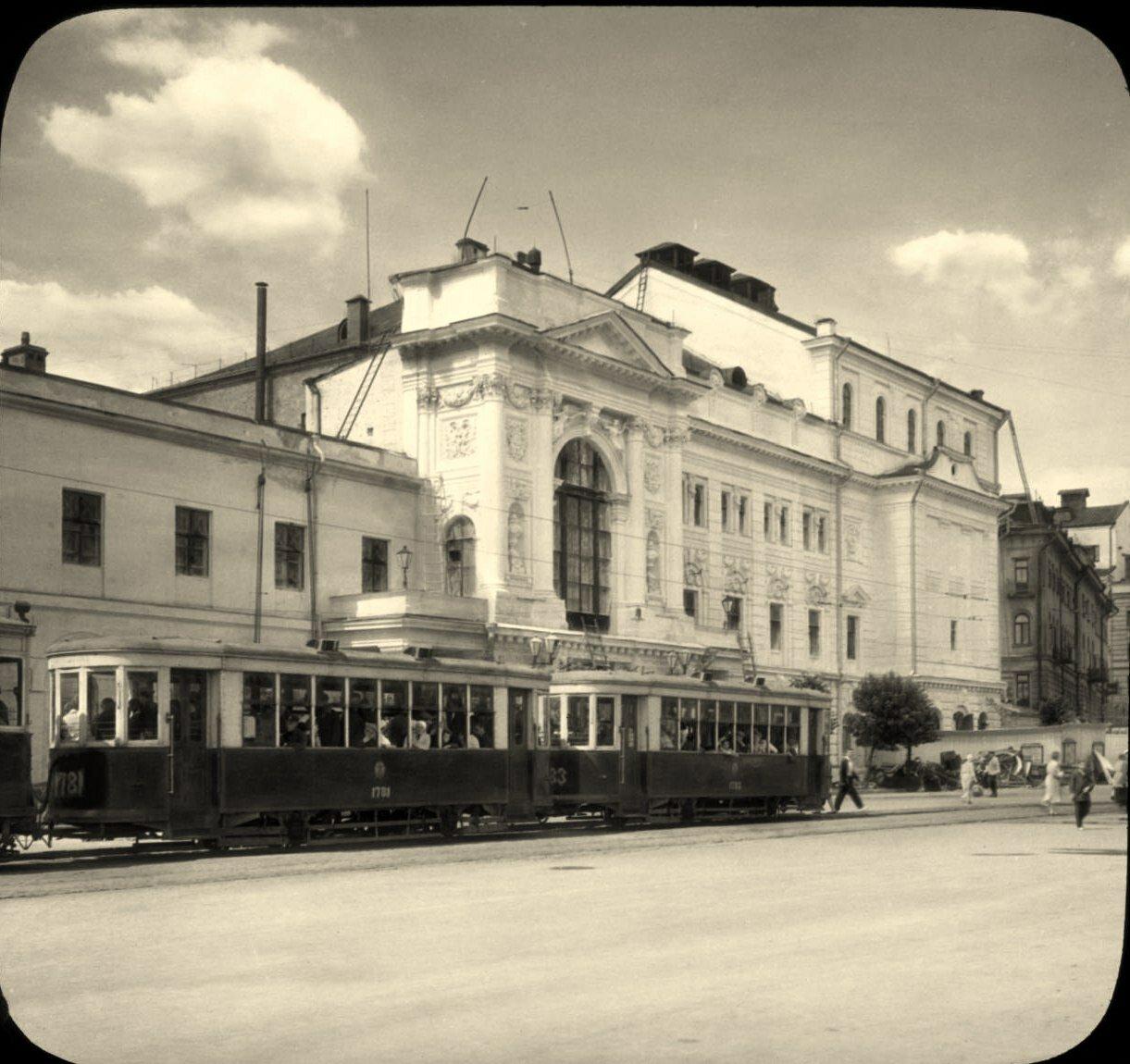 Москва. Второй Московский Художественный театр