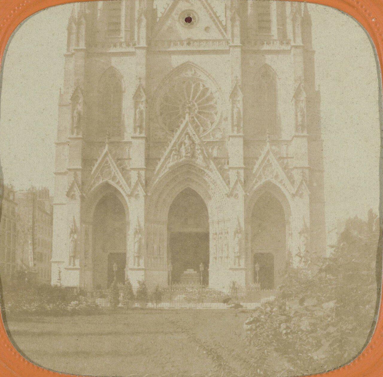 1850-е. Базилика Святой Клотильды