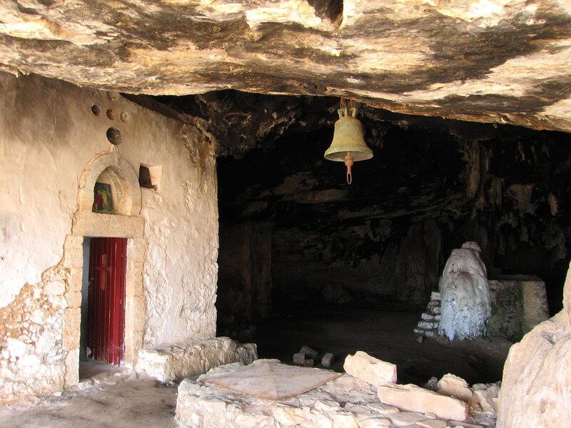 Крит, пещера Аркудиотисса