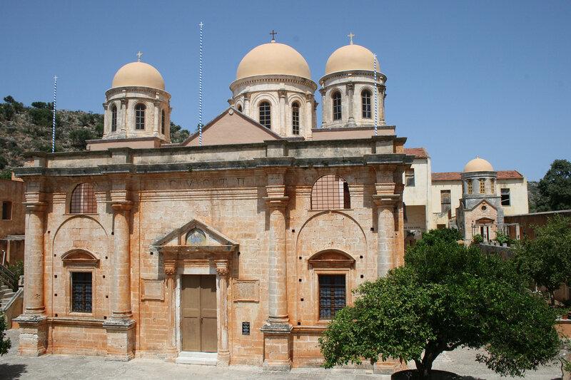 Церковь Святой Троицы в Агиа Триаде