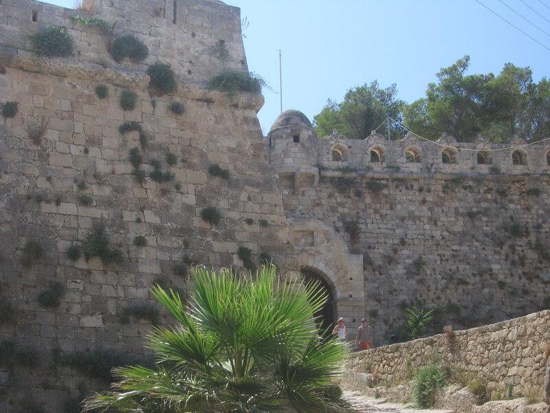 Крит, Стены крепости Ретимно - Фортецца
