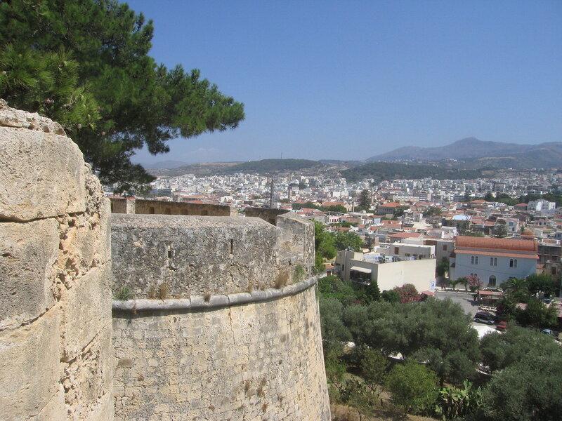 Крит, Вид на Ретимно из крепости Фортецца