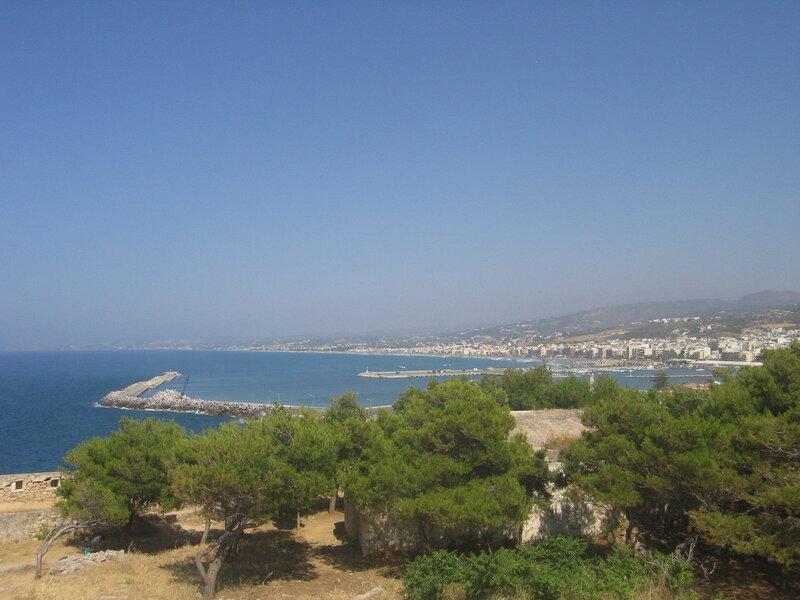 Крит, Вид на Ретимно из Фортеццы