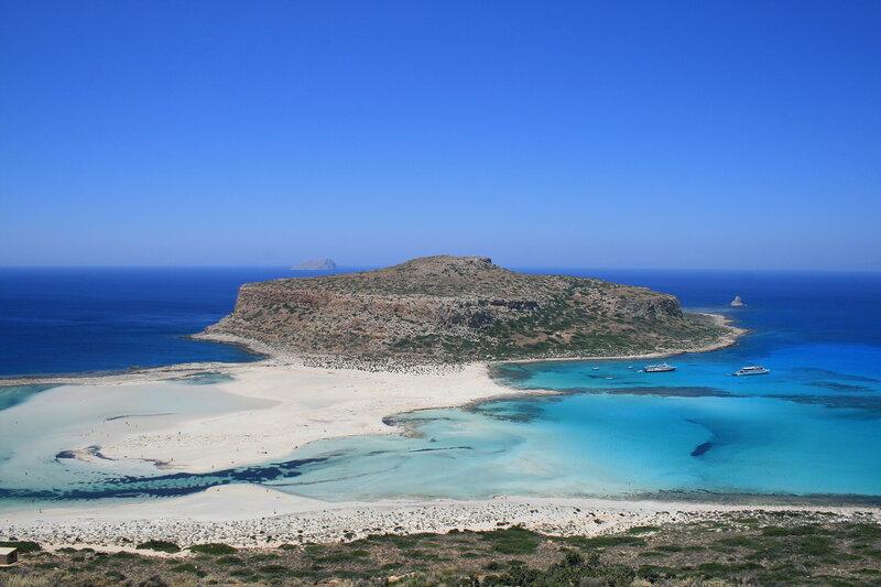 Крит, Лагуна Балос и остров Грамвуза