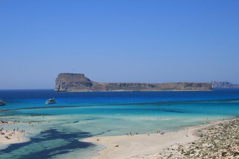 Крит, Остров Грамвуза и лагуна Балос