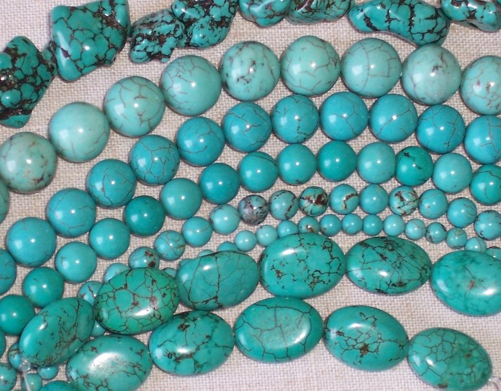 turquoise,howlite,gift,semiprecious stones