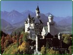 Neuschwanstein Castle, Bavaria, Germany - mountains.jpg