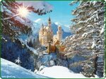 Neuschwanstein Castle, Bavaria, Germany - sun & snow.jpg