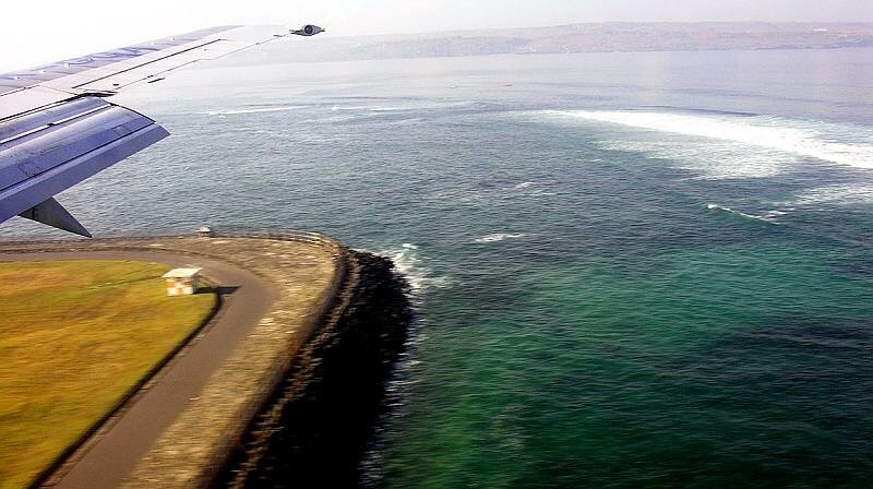 Посадка на Бали