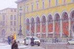 Мюнхен. Первый снег.