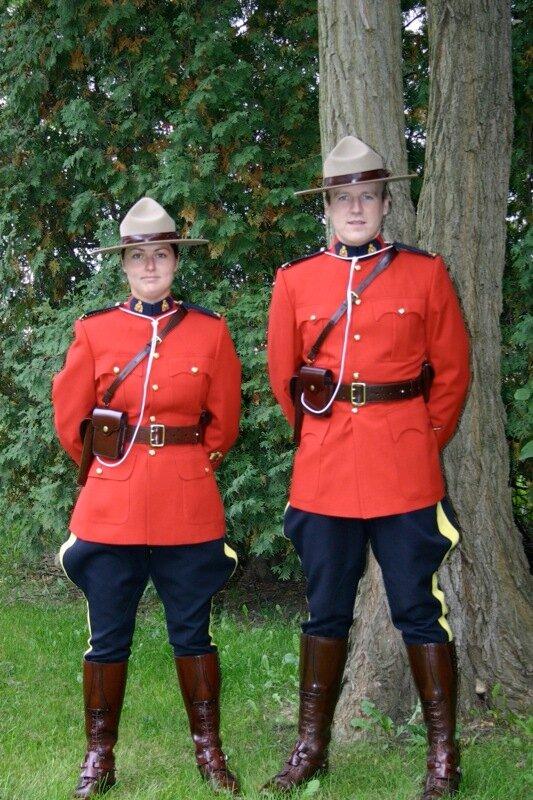 Royal Canadian Mounted Police.Королевская канадская конная полиция