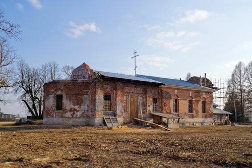 Церковь Преображения Господня, Крюково Московской обл.