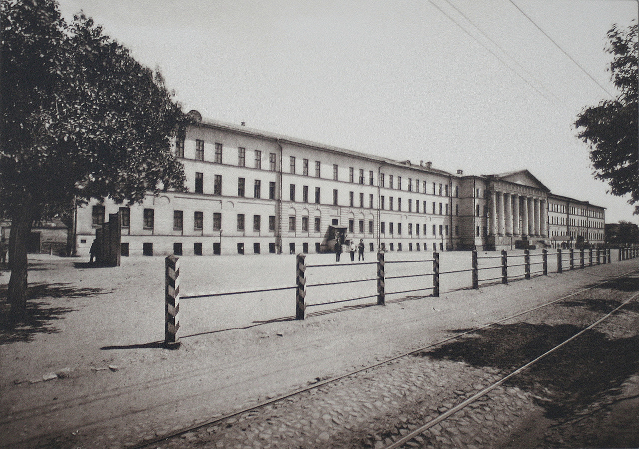 Фото старой москвы николаевские казармы