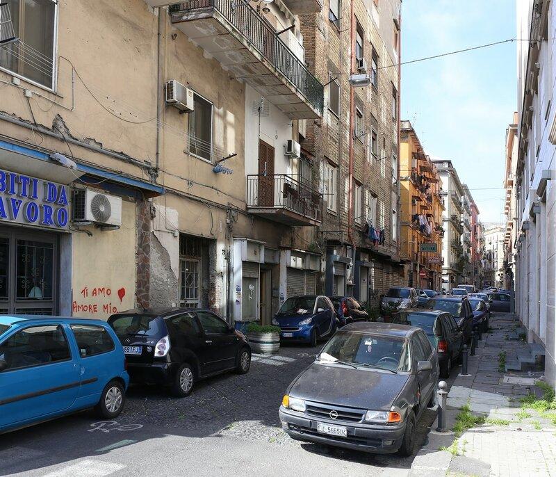 Неаполь. Виа Нуова Марина (Via Nuova Marina)