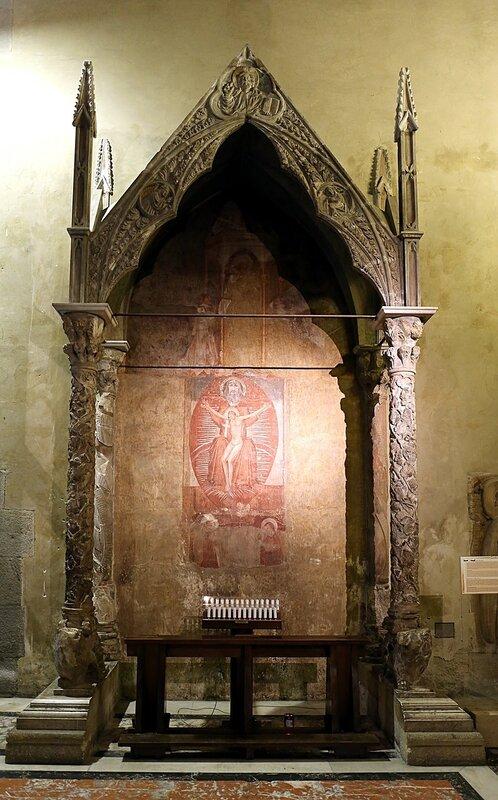 Неаполь. Базилика Санта-Кьяра (Basilica di Santa Chiara)