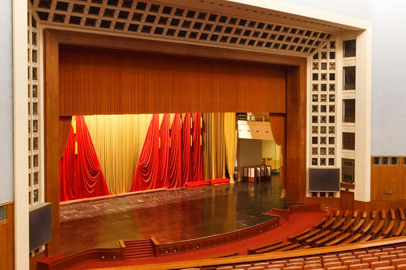 """Парадный зал на """"десять тысяч мест"""", Дом народных собраний, Пекин"""