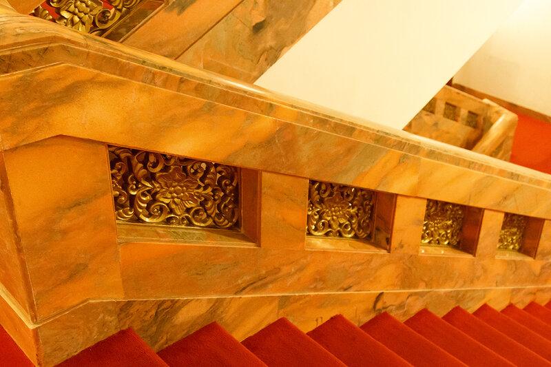 Перила лестницы, Дом народных собраний, Пекин