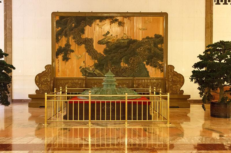 Картина в Центральном холле, Дом народных собраний, Пекин