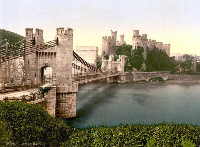 12. Конуи, замок и подвесной мост
