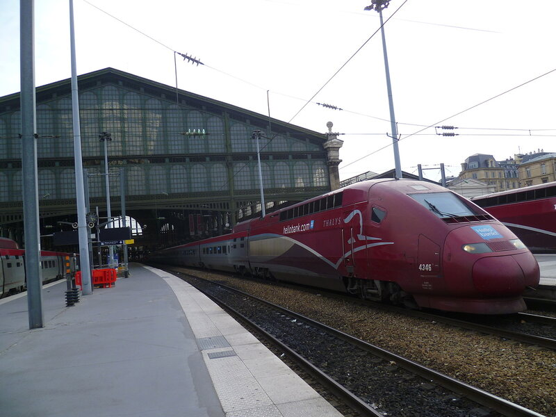 Франция, поезд Thalys (France, Thalys train)