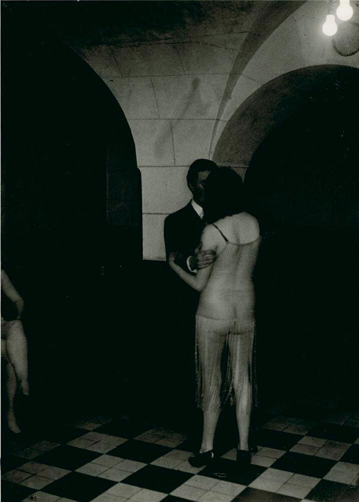 1932. Бордель «Монастырский», Латинский квартал (фрагмент)