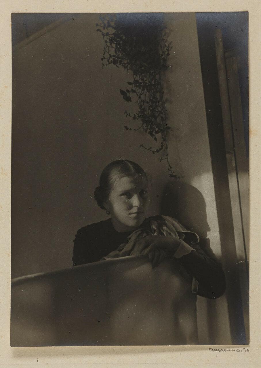 1936. Портрет Татьяны Малютиной