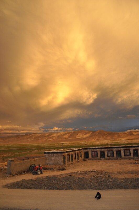 Тибетские странствия-4.Облака.