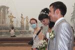 Свадьба на ВДНХ, смог