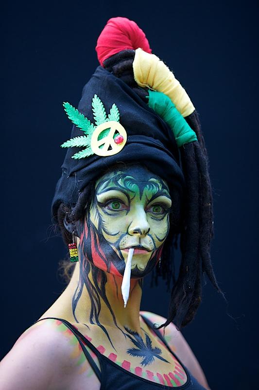 Австрийский Международный фестиваль бодиарта (фото, ню)