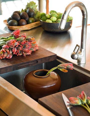 кухня в японском стиле