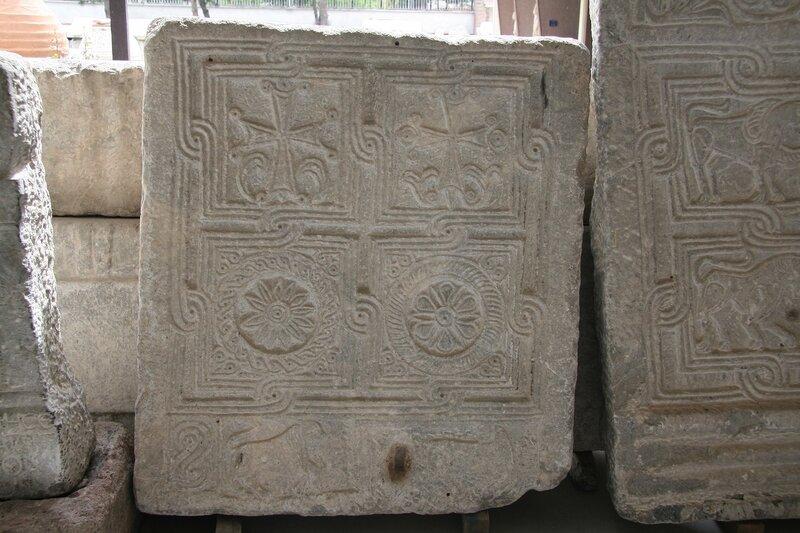 Иконий (Кония). Фрагменты византийских алтарных преград в местном музее