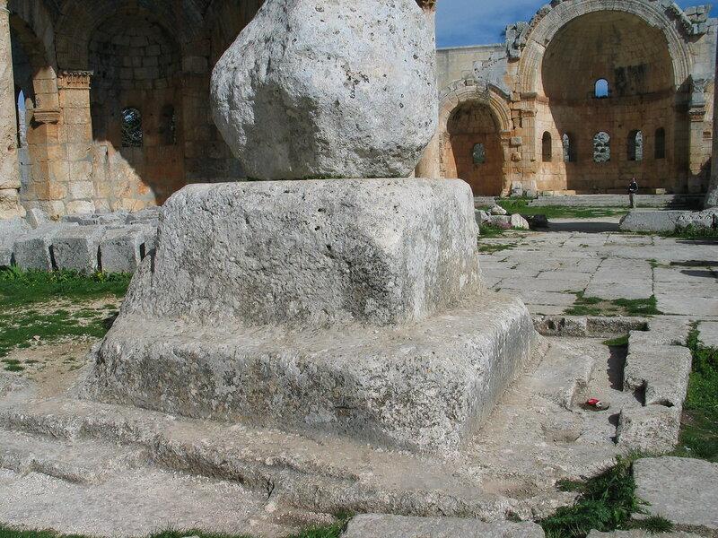 Мартирий Симеона Столпника Старшего (Калат Семан). 476-492 гг.
