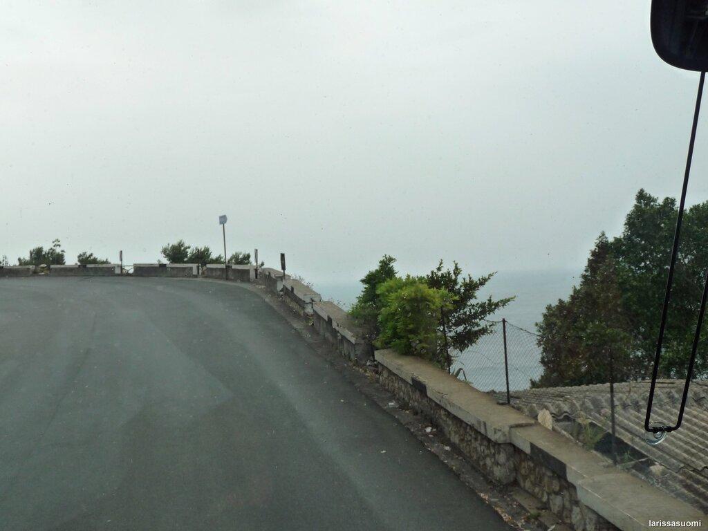 """По дороге к горным деревушкам Савока и Форса д""""Арго."""