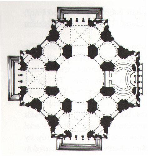 (Микеланджело) схемы храма