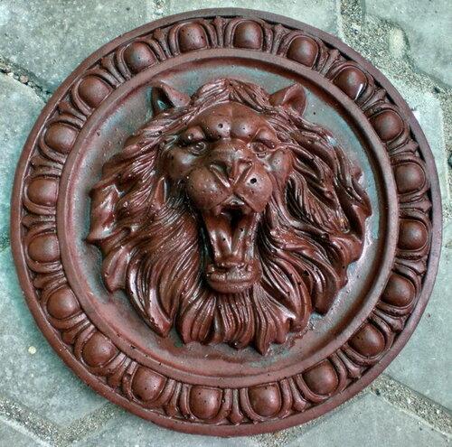 Элемент декора круглый медальон ЛЕВ
