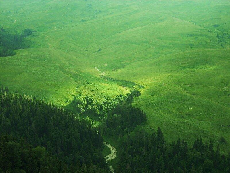 Зеленые горы