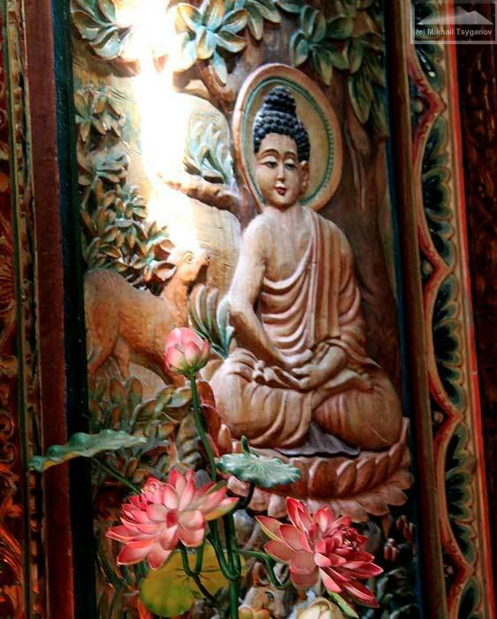 Буддийский монастырь на Бали