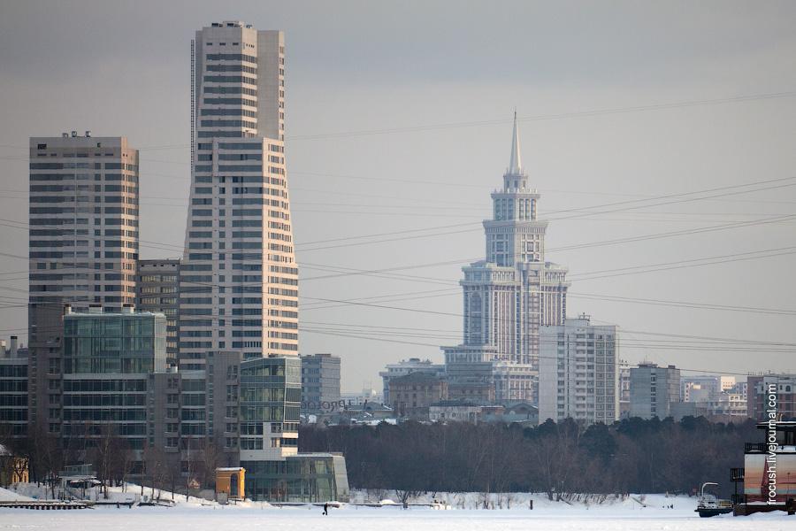 Жилые комплексы «Город яхт», «Северный парк» и «Триумф-Палас»