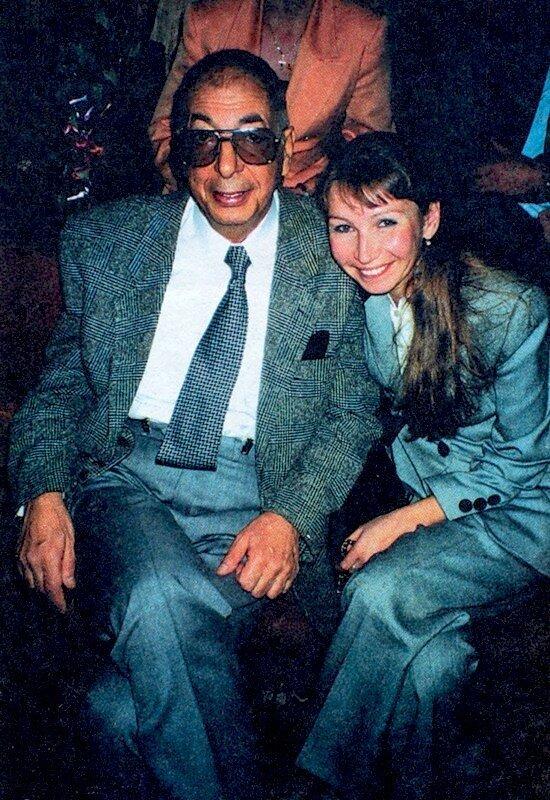 Микаэл и Вера Таривердиевы. Последняя фотография. 1996 год.