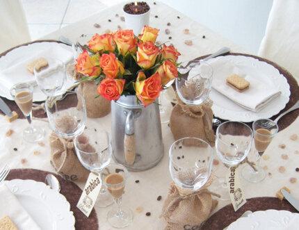 Декорирование праздничного стола