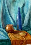синяя бутылка ада