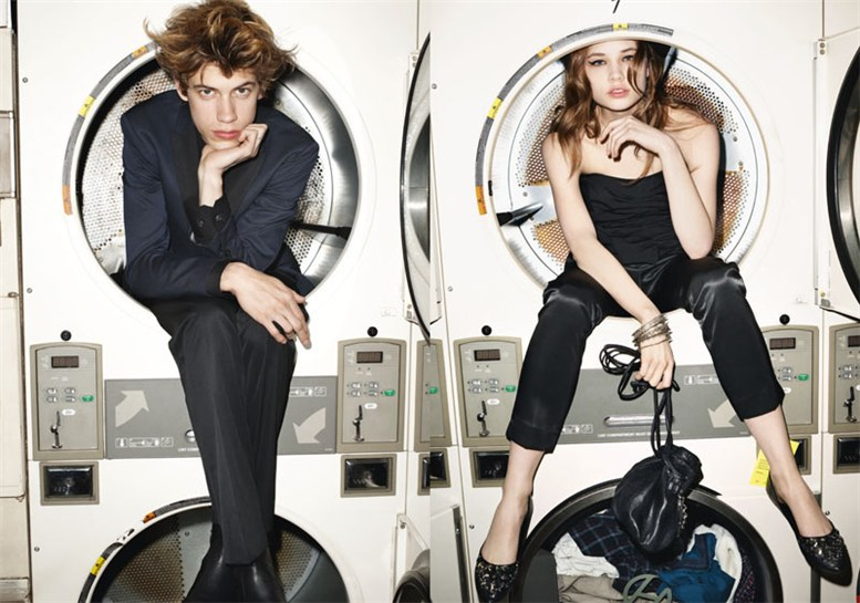 Эшли Смит и Бреджи Хейнен / Ashley Smith and Bregje Heinen by Terry Richardson for Sisley