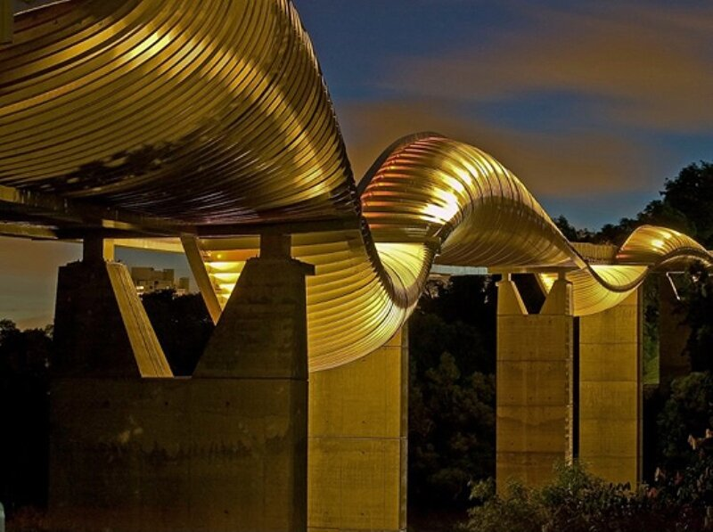 Мост «Волны Хендерсона» (Henderson Waves Bridge)