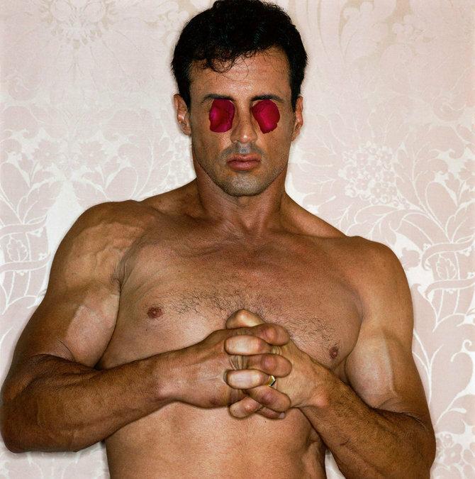 Photographer Michel Comte.Sylvester Stallone