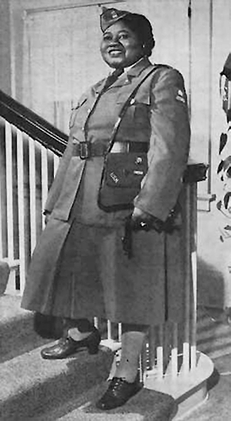 Hattie McDaniel was a member of the American Women's Voluntary Service during WWII