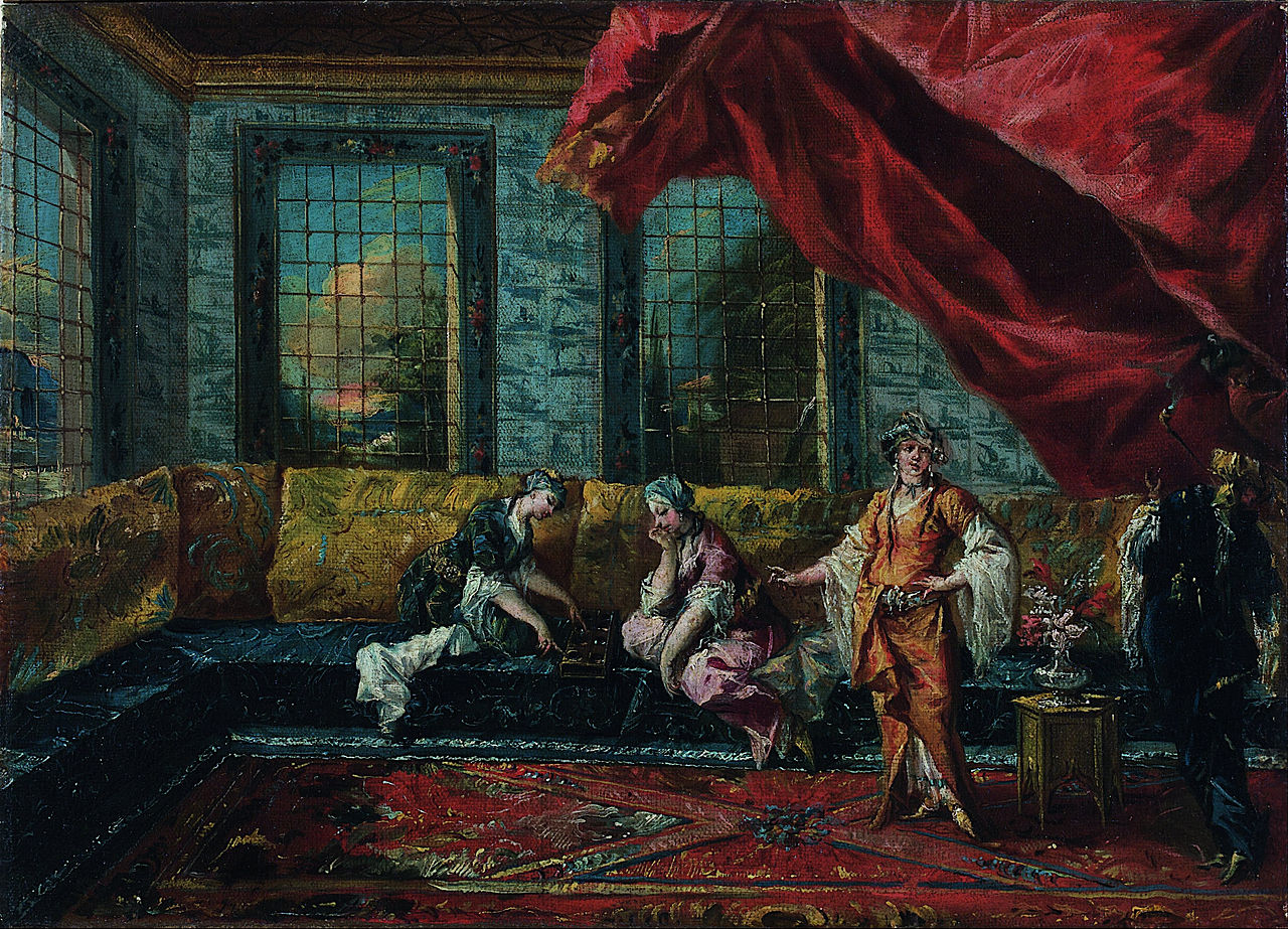 1280px-Giovanni_Antonio_Guardi;_Francesco_Guardi_-_Two_Odalisques_Playing_Mancala_in_the_Harem_-_Google_Art_Project.jpg
