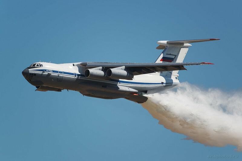 Ильюшин Ил-76МД (RF-76558) ВКС России 1320_D806497-2